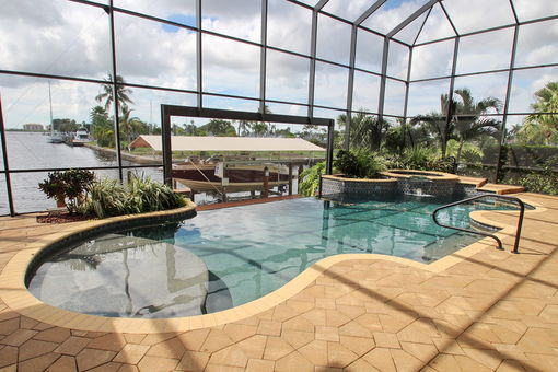 Pool - Ferienhaus in Cape Coral