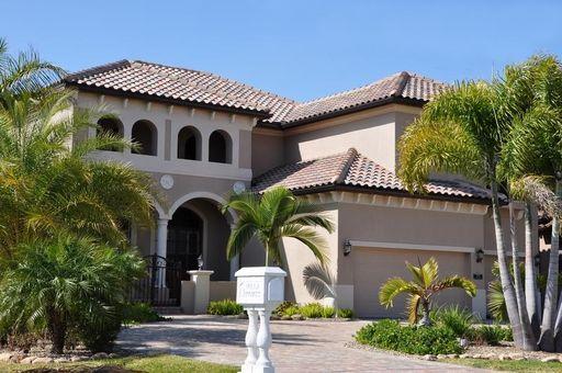 Villa Bellagio front - Ferienhaus Florida